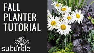 Simple Fall Planter Tutorial