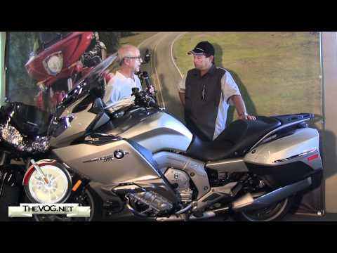 BMW Motorcycles: 2012 BMW K 1600 GTL Motorcycle Rider Review
