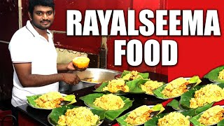 RAYALSEEMA FOOD in Hyderabad | Kushka | Egg Dosa | Yerra Karan Dosa