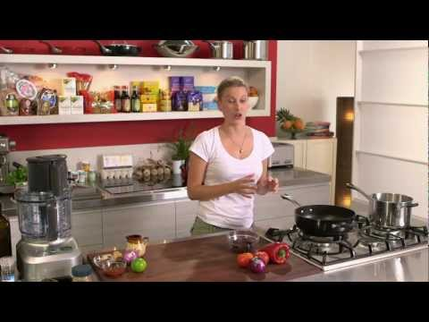 Stuffed Potatoes with Smoked Paprika Pork cooked by Everyday Gourmet Chef Justine Schofield