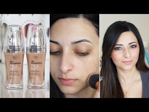 L'Oreal True Match Foundation First Impressions Review | Le Beauty Girl