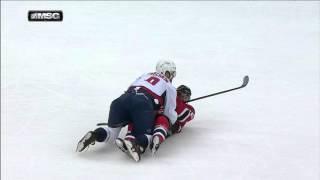 Gotta See It: Josefson skates into oncoming Ovechkin train