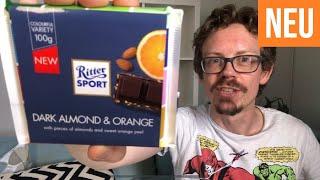 Ritter Sport (Dunkle) Orange Mandel: Die NEUE SORTE in der Test-Vorschau!
