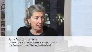 Julia Marton-Lefèvre, Director General of IUCN: Why should one participate in the Holcim Awards?