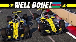F1 2018 KARRIERE S02E04 – Well Done, Baku! | Let's Play Formel 1 Deutsch Gameplay German