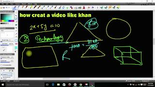 How To Make Educational Videos   Like Khan Academy Style      #studypoint, #educationalvideo