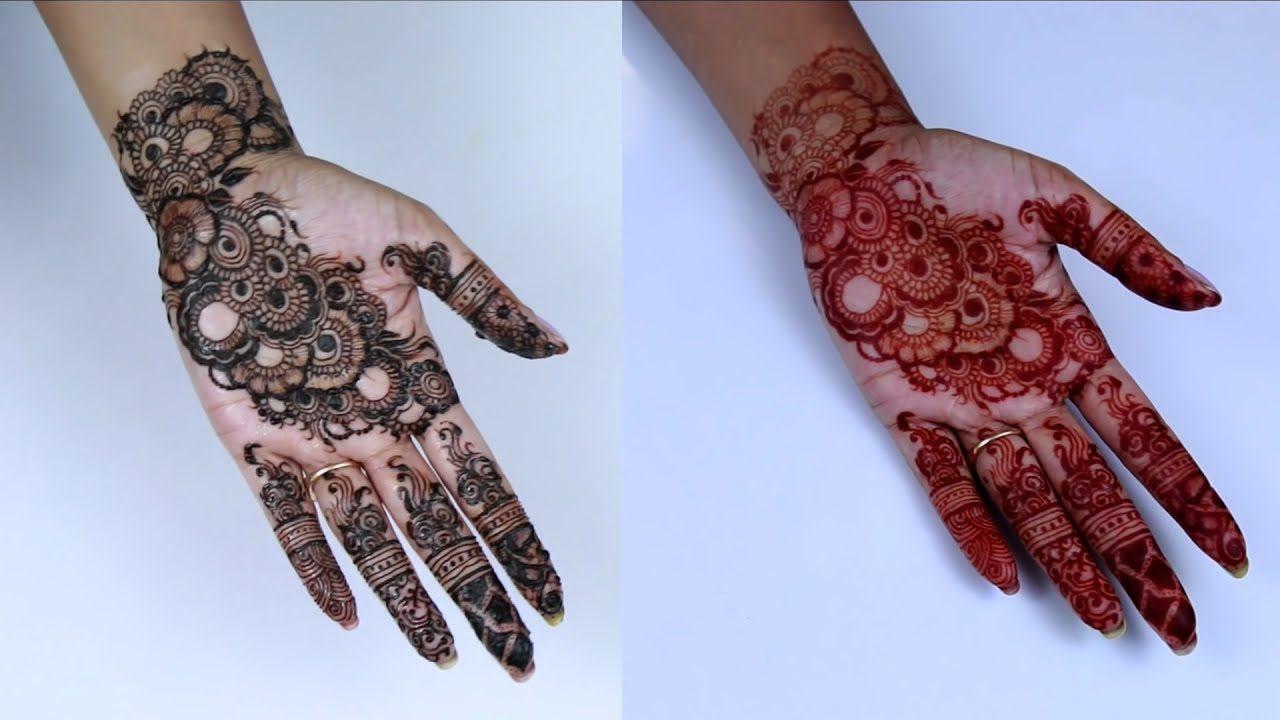 how to make henna paste for dark red stain by shruti arjun anand