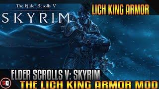The Elder Scrolls V: Skyrim - Lich King Armor Mod
