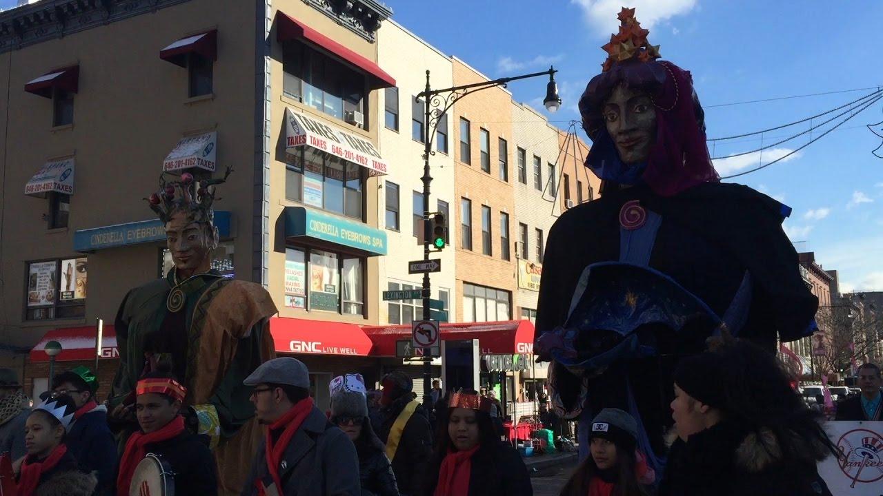 Cabalgata de los Reyes Magos en Nueva York