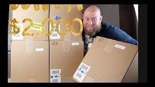 I bought a $2,028 Amazon Customer Returns Pallet / Mystery Boxes + NOW IS THE TIME TO BUY PALLETS