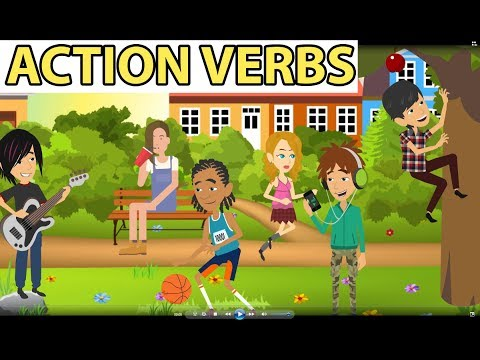 Action Verbs Vocabulary