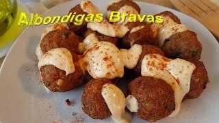 Receta de albóndigas bravas | Recipe of wild meatballs  | Cocina con rock