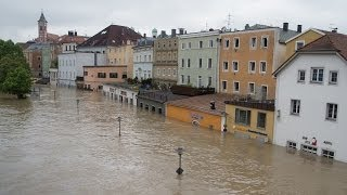 preview picture of video 'Hochwasser in Passau 2013 [Spezial]'