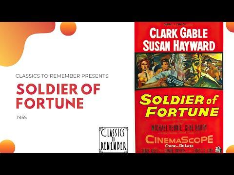 Soldier Of Fortune (1955) 4K Adventure Crime Drama Romance Thriller Susan Hayward Clark Gable