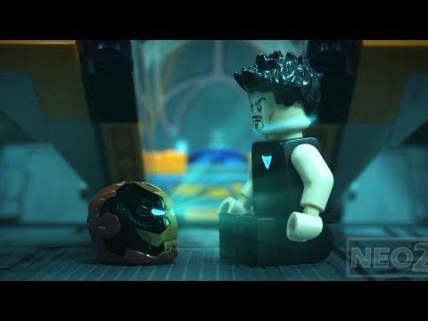 Avengers Endgame Trailer in Lego