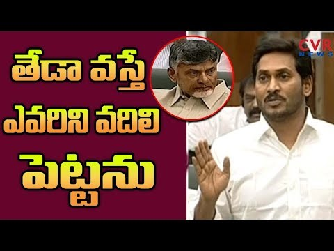 CM YS Jagan Excellent Speech in Assembly