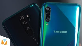 Samsung Galaxy A50s vs Xiaomi Redmi Note 8 Pro Comparison Review