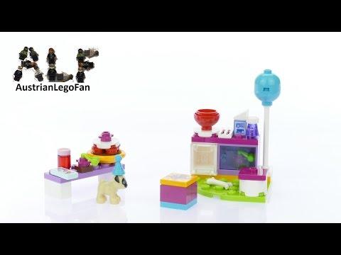Vidéo LEGO Friends 41112 : Le goûter du chiot