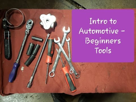 Intro to Automotive - Beginner Tools
