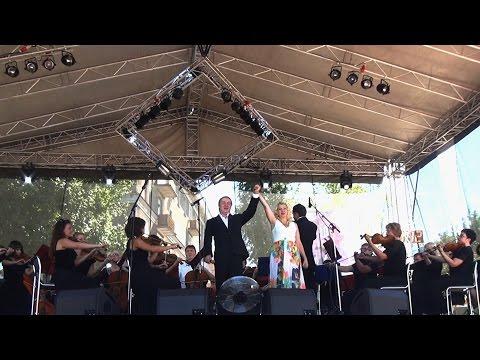 Выступление симфонического оркестра Ступинской филармонии на дне города.