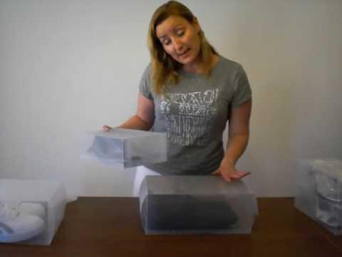 Como organizar tus zapatos con nuestras Cajas de Zapatos Transparentes