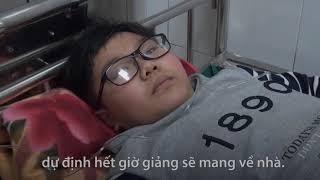 Hơn 40 học sinh Hải Dương nhập viện vì ăn nhầm bột thông bồn cầu