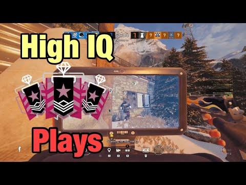 High IQ Champion Plays w/ IQ - Rainbow Six Siege: Operation Ember Rise