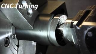 Aero-Plastics CNC Turning Process