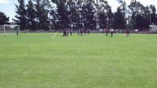 preview picture of video 'Gol de Ministerio de Quequen en reserva Thaiel a Independiente de Lobería'