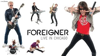 """FOREIGNER """"Urgent"""" Live HD (official) LIVE IN CHICAGO"""