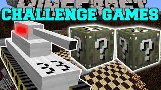 Minecraft: TANK CHALLENGE GAMES - Lucky Block Mod - Modded Mini-Game