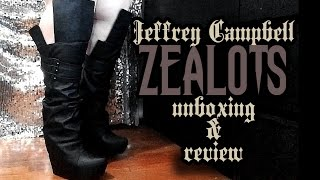 Jeffrey Campbell Zealot Boots - Unboxing And Review!