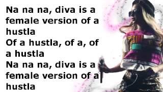 Beyoncé Diva-lyrics video
