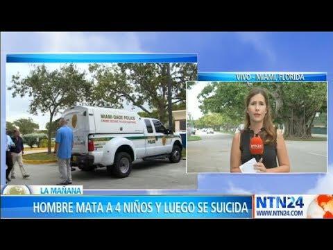 Hombre mató a cuatro niños y se suicidó en Florida
