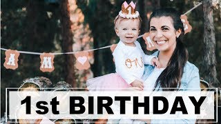 BABY'S FIRST BIRTHDAY | VLOG