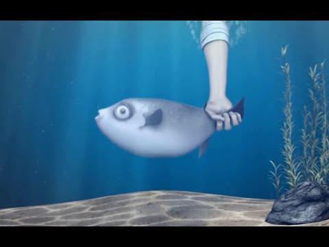 Побег у рыбки не удался) и никто не поможет) очень смешные короткие мультики