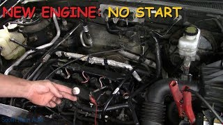 Customer Rebuilt Engine & Now It Won't Start