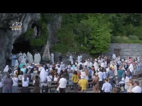 Messe de 10h à Lourdes du 22 juillet 2021