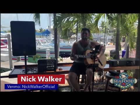 Chasin' You - Morgan Wallen (cover) by Nick Walker LIVE from Conch Republic in Key West