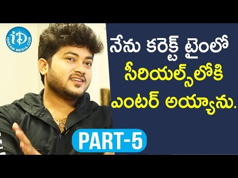 Actor Siddharath Varma Exclusive Interview Part #5 || Soap Stars With Anitha