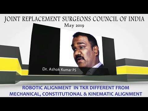 Is Robotic Alignment in TKR Different From Mechanical, Constitutional, & Kinematic Alignment