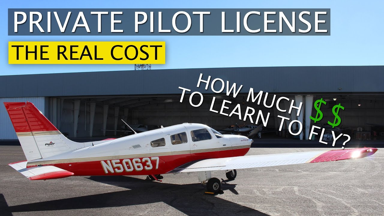 How Much Does It Cost To Get Your Private Pilot License