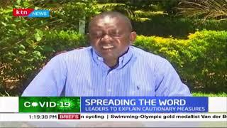 Kapsaret MP Oscar Sudi seeks to sensitise Kenyans over deadly COVID-19