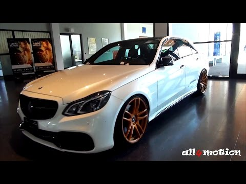 MERCEDES-BENZ E63 AMG W212 FACELIFT BARRACUDA WHEELS by Autozubehör Outlet