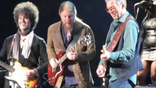 Eric Clapton - Let It Rain - LIVE 4th Row NYC 3May2015