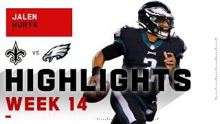 Jalen Hurts Wins His 1st NFL Career Start | NFL 2020 Highlights