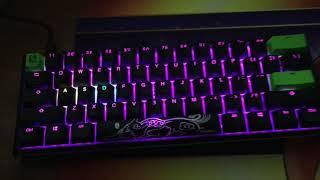 ducky one 2 mini keyboard rgb lighting modes - TH-Clip