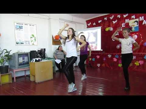 Современный танец подростков на День Матери