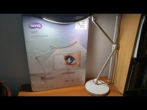 BenQ Wit e-Reading LED Desk Lamp – Review & Unboxing [HD]