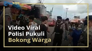Viral Video Polisi di Maluku Gunakan Rotan untuk Razia Warga yang Tak Pakai Masker di Pasar